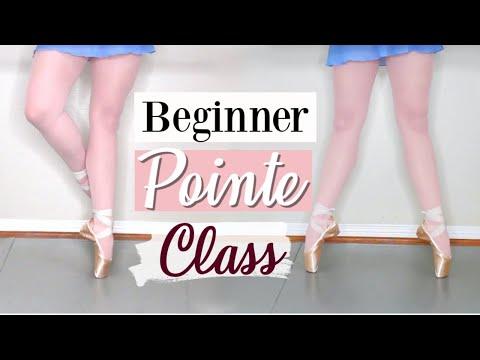 Beginner Pointe Class | Kathryn Morgan