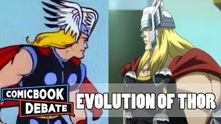 Evolution of Thor in Cartoons in 11 Minutes (2017)