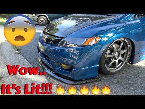 Carbon Fiber Front Splitter?!?!?!?!? 🤔