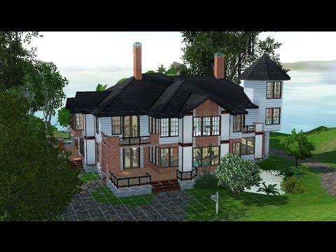 The Sims 3 Speedbuild #9 Victorian Mansion [Part 2]
