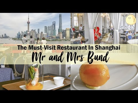 Mr & Mrs Bund - Modern French Eatery By Chef Paul Pairet In Shanghai