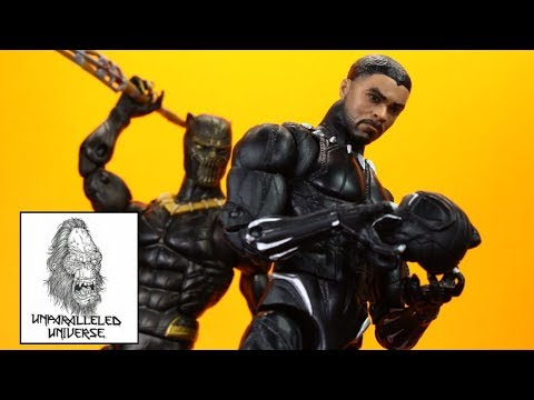 Marvel Legends Movie Black Panther & Eric Killmonger 2017 Action Figure Review