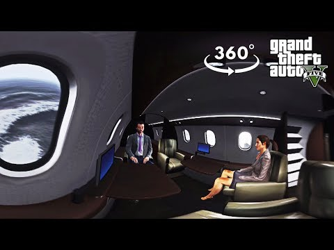 360° VR Plane Crash - GTA 5