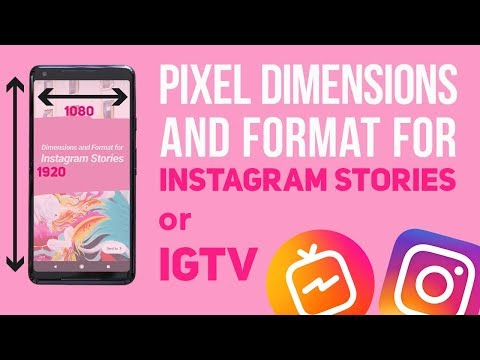 Instagram Story Tip: Pixel Dimensions and Format for Instagram Stories