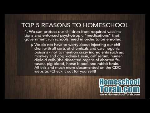 Christian Homeschool Curriculum - 5 Benefits of Homeschooling
