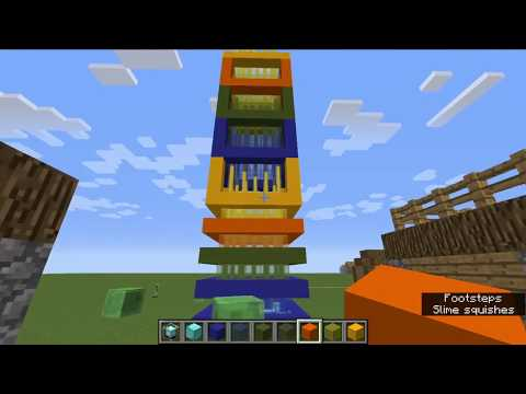 How to build a beacon tower in minecraft PC