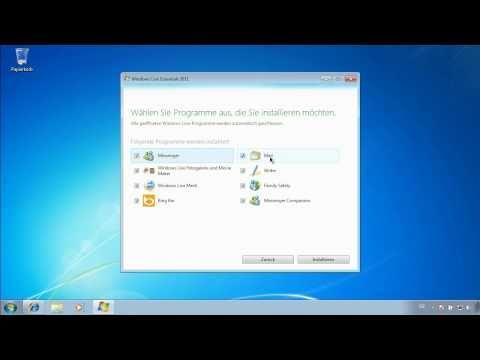 Windows Live Mail einrichten