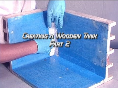 Creating a Wooden Tank Part 2