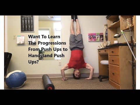 Push Ups to Handstand Push Ups