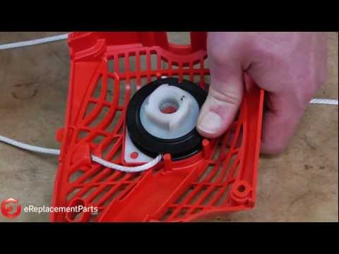 How to Repair the Starter on a Chainsaw