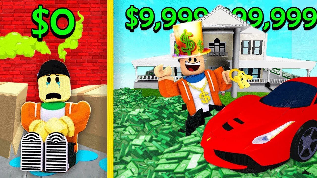 HOMELESS vs. BILLIONAIRE PLAYER! | Roblox Simulators