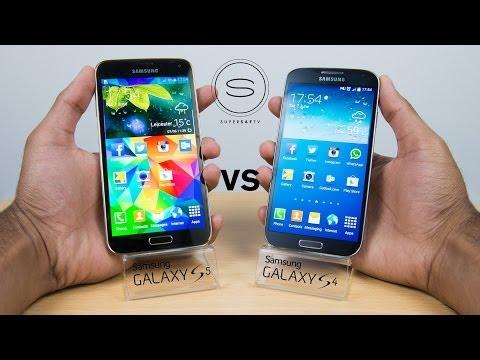 Samsung Galaxy S5 vs Samsung Galaxy S4 - Full Comparison