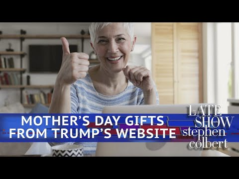 Mother's Day Gifts From Trump's Online Store