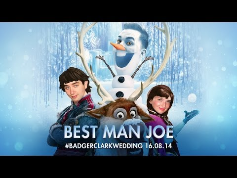 Best Man Joe sings his Best Man Speech to Frozen's 'let it go' - Original Video
