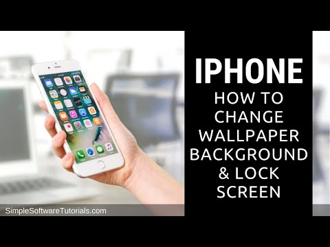 Tutorial: How to Change Wallpaper Background & Lock Screen on iPhone
