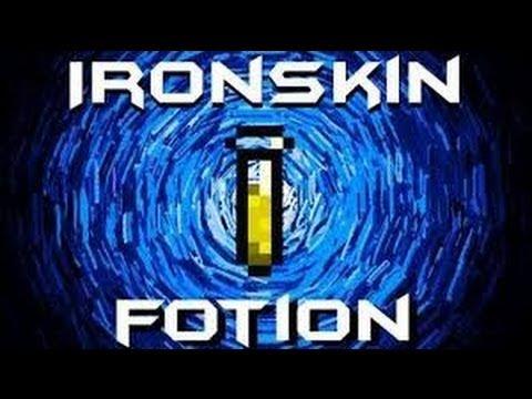 Iron skin potion (terraria)