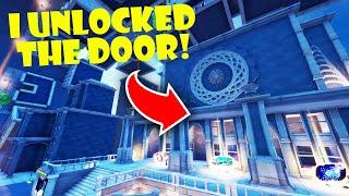 I Unlocked a Secret Door in the NEW Fortnite Creative Hub!