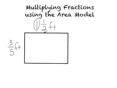 Finding the area with fractional sides
