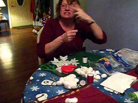 How do make Snowballs of snowflakes!