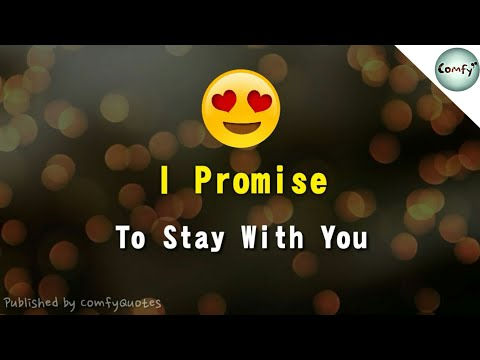I Promise 😇 Love WhatsApp Status  😇 Smile, Protect, Never Cheat Girlfriend Boyfriend Video
