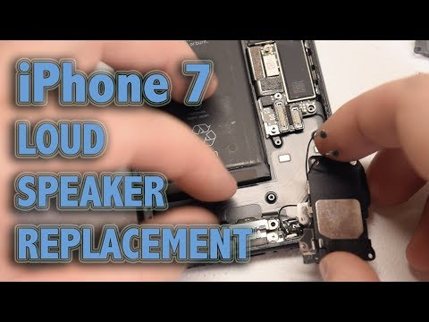 iPhone 7 Loud Speaker Replacement