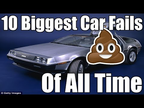 10 Biggest Car Fails Of All Time