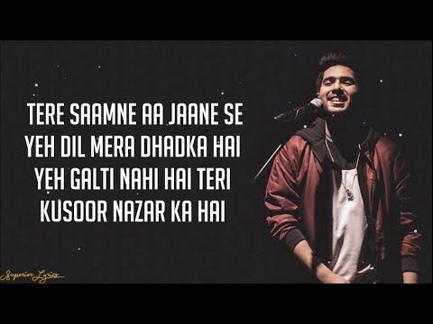 Xxx Mp4 Dil Mein Chhupa Loonga Wajah Tum Ho Lyrics Armaan Malik Amp Tulsi Kumar Meet Bros 3gp Sex