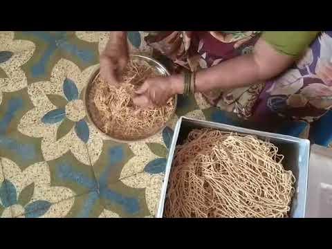 Desi home made sweet nudals.        Gujarati sevo