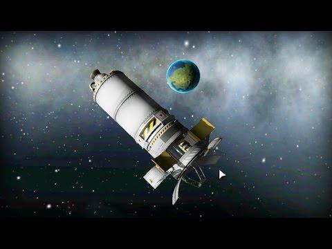 HOW TO BUILD SATELLITE | Kerbal Space Program