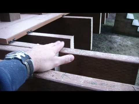 Deck Joists are cut and a problem