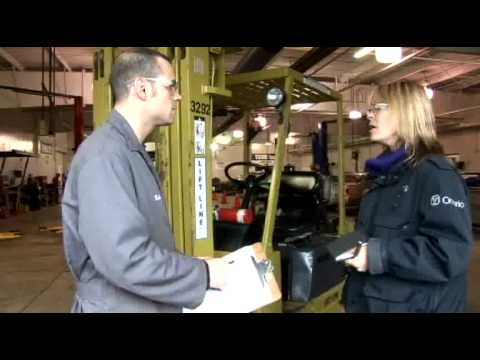 Ontario Inspects Forklifts For Safety