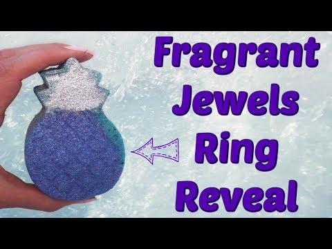 Fragrant Jewels Ring Reveal - Kauai Aloha Bath Bomb!