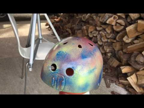 Spray Painting My Helmet