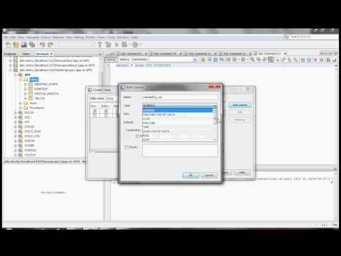 NetBeans - create database