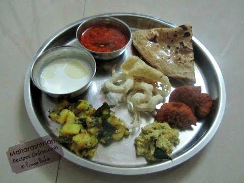 Puran Poli ani Katachi Amti (Whole Naivedhyam Platter) - Maharashtrian Recipe