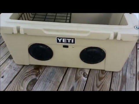 Yeti Tundra 65 Stereo Cooler Stock Inside