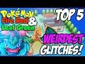 Top 5: Weirdest Glitches | Pokemon Fire Red & Leaf Green! (Jason Plays Pokemon)