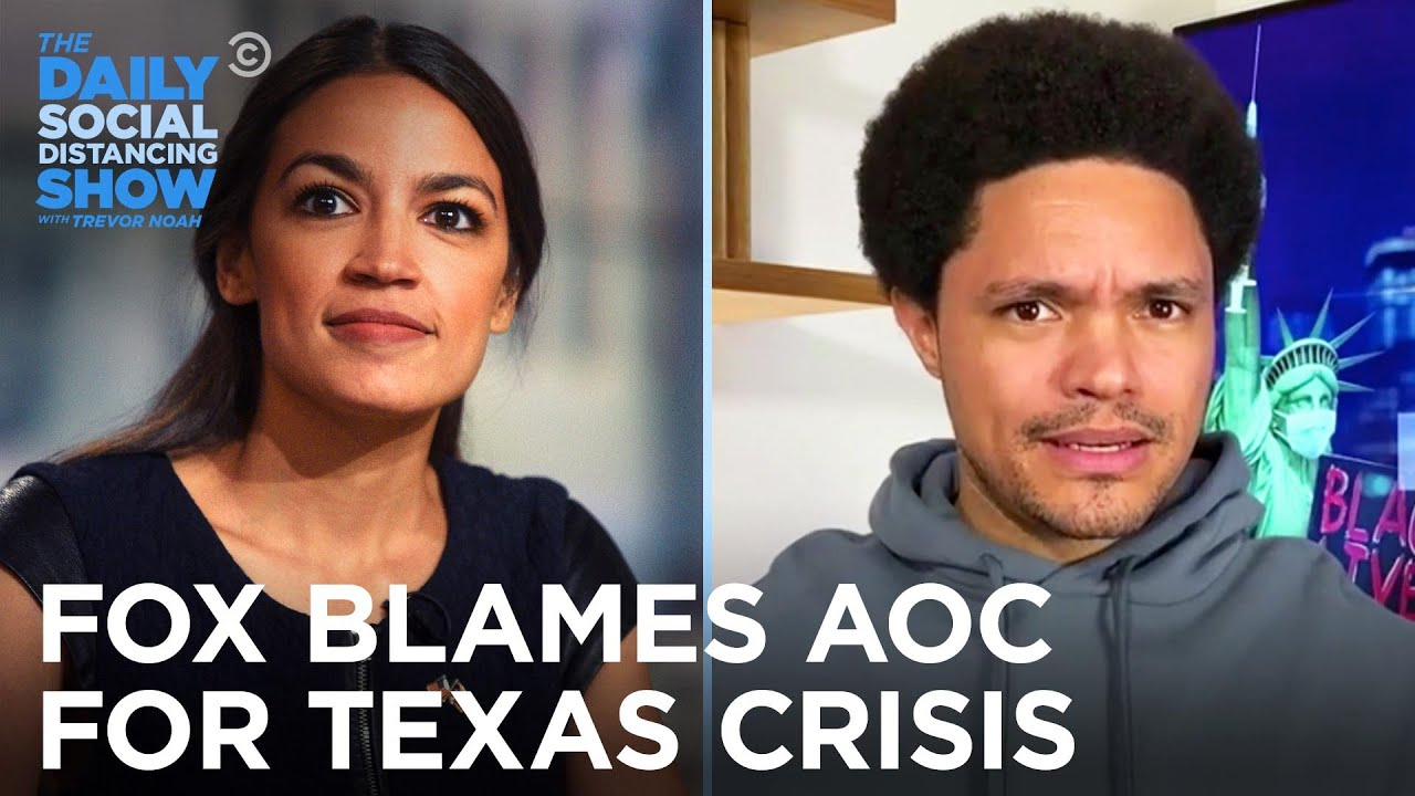 GOP & Fox Blame AOC's Green New Deal for the Texas Power Crisis | The Daily Social Distancing Show