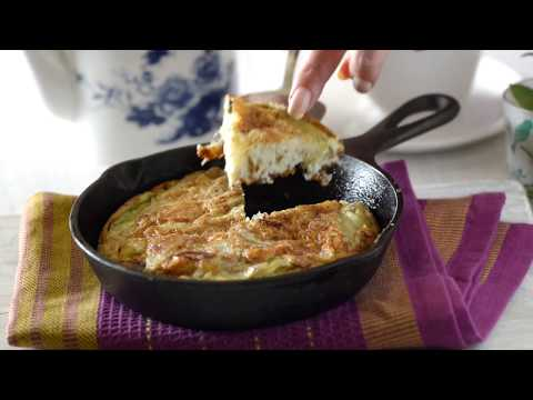 Spanish Omelette Recipe -  Breakfast or Snack Recipe