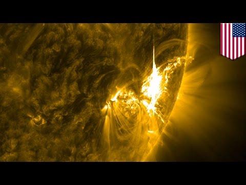 Solar storm alert: major solar flares are heading towards Earth