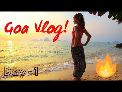 GOA TRAVEL DIARY | Surprise Trip to Goa | Novotel Shrem | Day 1