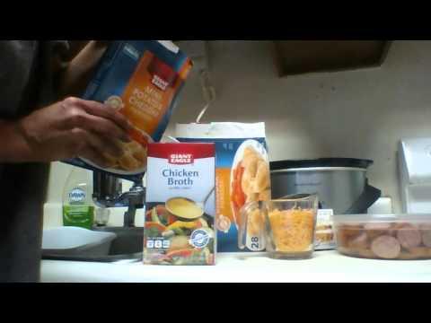 Make Crockpot Pierogies