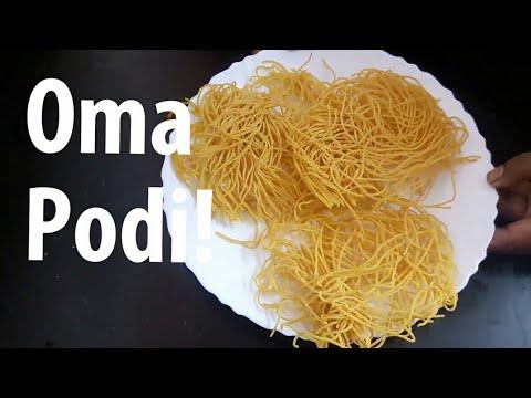 Oma podi   ஓம பொடி   Oma podi recipe in Tamil