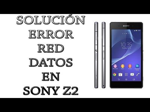 Solucion error de Red de datos en Sony Xperia Z2 (VALE PARA CUALQUIER SONY XPERIA).
