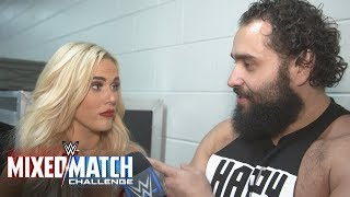 Rusev & Lana choose to convey the excitement over their Mixed Match Challenge partnership in song