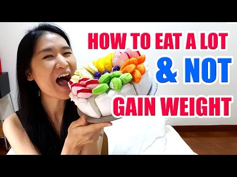 How I eat A LOT and NOT gain weight? The Truth Revealed