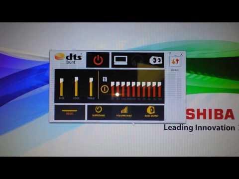 Windows 10 How to Resolve Audio Problems Low Sound Toshiba Computer DTS Sound VOLUME App FIX Video