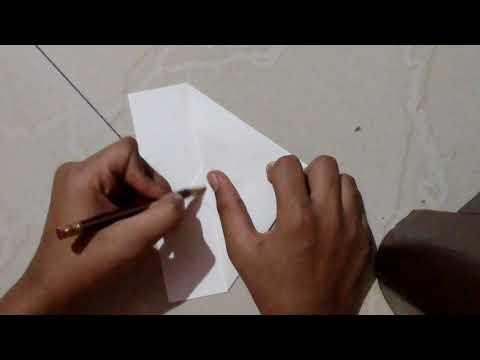 How to make a paper dart Locked dart (John Collins)