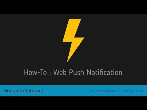 How-To : Push Notification Integration in NodeJS Application
