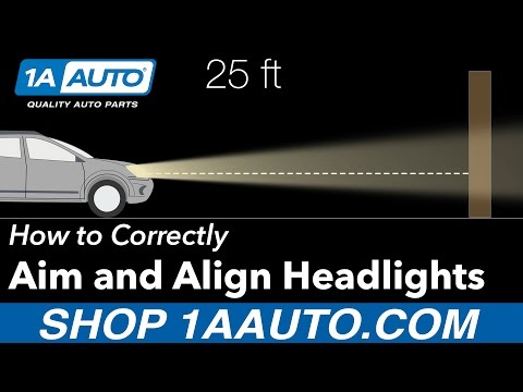 How to Aim and Align your Headlights Correctly